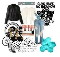 """""""Stylemoi 3."""" by nermina-hasic ❤ liked on Polyvore featuring Oak, Red Circle, Frame Denim and stylemoi"""