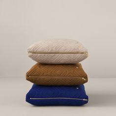 Ferm Living Quilt Cushions at Nannie Inez in Austin