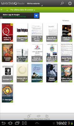 Conhece o Mantano Ebook Reader Lite? Ele é meu #top em aplicativos android. Saiba o motivo ➦