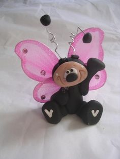 Polymer clay butterfly CLAYKEEPSAKES