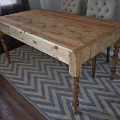 Small Farmhouse Style Dining Table