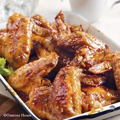 Gooseberry Patch Recipes: The Best-Yet Buffalo Wings. These wings are sweet, but the sauce is hot!