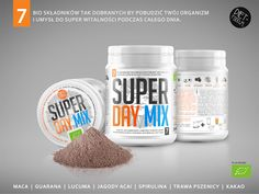 Superfoods Mixes on Packaging of the World - Creative Package Design Gallery
