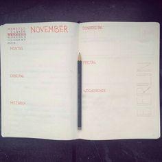 November Spread