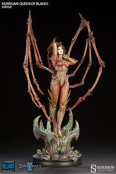 Estatua Sarah Louise Kerrigan 63 cm. La Reina de Espadas. StarCraft II. Sideshow…