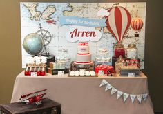festa aviador/ festa menino/ avião/ plane party