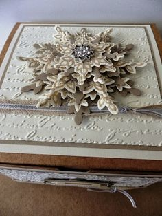 Felicity's Craft Corner: Stampin Up's Extra-large Gift Box Decorated