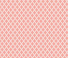 Pink Moroccan Fabric By Sweetzoeshop On Spoonflower