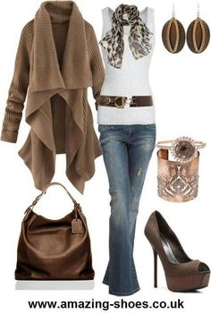 Stylish outfit for fall