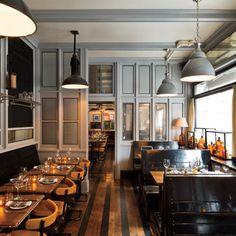 The Steven Gambrel–designed interior of Cole's Greenwich Village