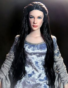 arwen / Dolls from Lord of the Rings by Noel Cruz