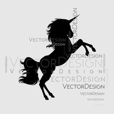 Unicorn Fantasy Horse SVG EPS Png Pdf Vector Art Clipart instant download Digital Cut Print File Cricut Decal Shirt Vinyl shirt by VectorartDesigns on Etsy