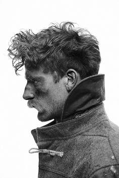 Collar up | Polar Expedition | Hair | Messy rough |  by Saskia Schmidt