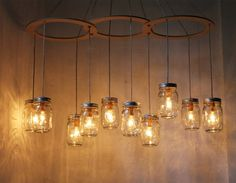 Mason Jar 2 Light Fixture Primitive Industrial Rustic Bathroom Vanity Lighting  barnwood barn wood shabby chic