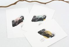 Happy New Earth  Set de 3 cartes différentes 10x15 par OAKgallery, €4,50