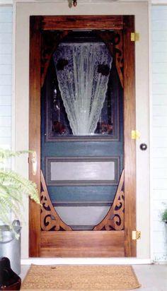 Victorian Screen u0026 Storm Door | August Model | . & Victorian Screen u0026 Storm Door | Westchester Model | www.VintageDoors ...