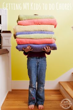 Getting MY Kids to Do Chores – a 30 day challenge of consistency!