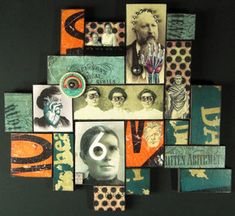 Collage Quilts - Greg's Mixed Media Gallery