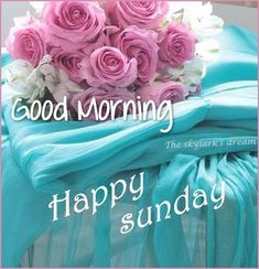 Temporary pretty good morning happy sunday quote on we heart it this month Happy Sunday Flowers, Happy Sunday Pictures, Good Morning Sunday Images, Sunday Wishes, Sunday Greetings, Good Morning Happy Sunday, Happy Sunday Quotes, Morning Greetings Quotes, Good Morning Picture
