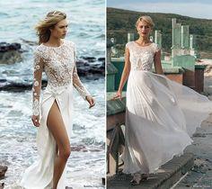 Vestidos de noiva na praia                                                                                                                                                                                 Mais