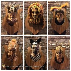 Hunter's Trophy Wall Taxidermy Group Costume – Vicki Lebold Hunter's Trophy Wall Taxidermy Group Costume Hunter's Trophy Wall Taxidermy Group Costume… Coolest Homemade Costumes Halloween Costume Contest, Funny Halloween Costumes, Couple Halloween, Halloween Diy, Halloween 2018, Healthy Halloween, Halloween Stuff, Halloween Makeup, Team Costumes