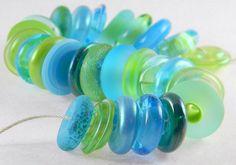 Glass beads    Etsy shop: gmdlampwork