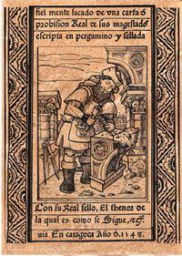 Láminas de Serigrafía con los oficios medievales Craftsman, Sailing, Baseball Cards, Temple, Spanish, Ship, Popular, Princess, Medieval Crafts