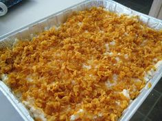 Hashbrown cassarole...pure comfort food !!! Love this stuff