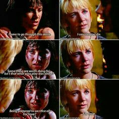 Xena e Gabrielle Xenia Warrior Princess, Androgynous People, Lucy Lawless, The Wb, Xena Warrior, Sad Day, Hercules, Lesbian, Sci Fi