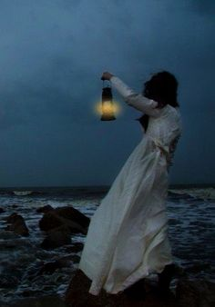 """""""The fishermen know that the sea is dangerous and the storm terrible, but they have never found these dangers sufficient reason for remaining ashore. Story Inspiration, Character Inspiration, Look Dark, Lighthouse Keeper, Sea Witch, Water Witch, Fantasy Photography, Am Meer, Oeuvre D'art"""
