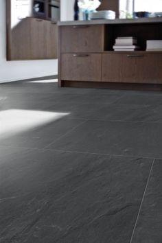 N/A Dark Flooring, Stone Flooring, Hardwood Floors, Small Apartment Interior, Small Apartments, Tricks, Home Remodeling, Tile Floor, Condo