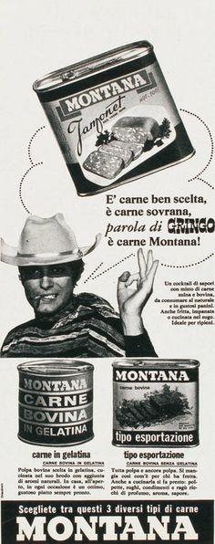 Vintage Advertising : Italia a tavola Old Poster, Vintage Posters, Vintage Labels, Vintage Ads, Montana, Italian Posters, Original Vintage, Old Advertisements, Art Deco Posters