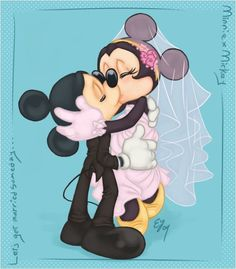 mickey and minnie mouse Walt Disney, Disney Pixar, Cartoon Disney, Disney Fun, Disney Couples, Disney Characters, Mickey And Minnie Love, Mickey Mouse And Friends, Mickey Minnie Mouse