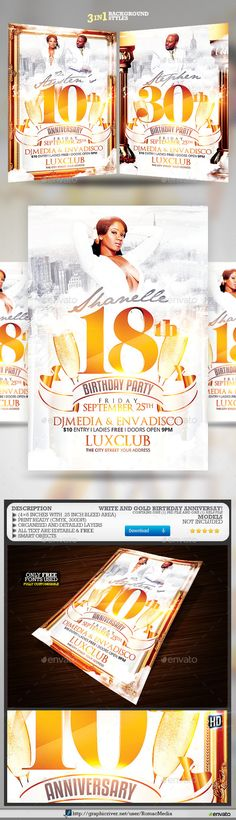 Billionaire Bash Party Flyer Party flyer, Billionaire and Add remove - birthday flyers template