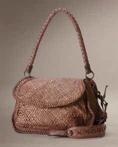 Norah woven bag from Frye company. Veg tanned leather with brass hardware. Im loving this brand.