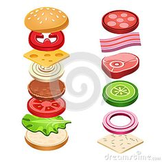 sandwich-ingredients-food-vector-illustration-emblem-bread-onion-cucumber-tomato-cheese-lettuce-salami-isolated-55723536.jpg (400×400)