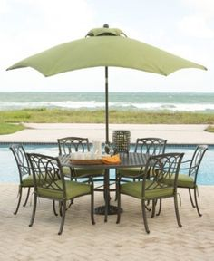 Palermo Outdoor Patio Furniture Dining Sets U0026 Pieces   Outdoor U0026 Patio  Collections   Furniture