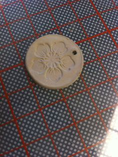 Linda pieza de Plata Pura antes del quemado - Técnica Metal Clay #ArtClay #ClasesdeJoyería