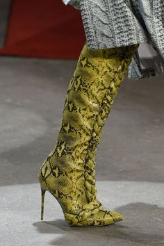 Christian Siriano Boots Fall 2016.