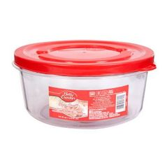 Betty Crocker Easy Seal Round Storage Container, 50 oz.