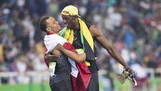 Andre De Grasse et Usain Bolt