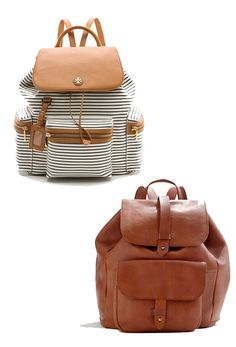 8c5610fff1 love the leather one Leather Backpack