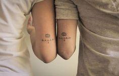 photo Trendy Tattoos, Mini Tattoos, Body Art Tattoos, Small Tattoos, Sleeve Tattoos, Tattoos For Women, Boy Tattoos, Photographer Tattoo, Tattoo Photography