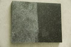 Honed Absolute Black Granite Countetops For Kitchen