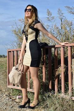 brown-black-dress-6