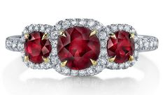 The most beautiful ruby ring designs in this photo gallery.