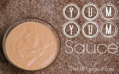 Yum Yum Sauce Recipe - perfect for chicken or salad