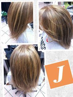 Degradè Joelle e taglio punte aria , la giusta combinazione di gusto ed eleganza #joelletreia #cdj #Joelleviola #lovecdj #degradejoelle #tagliopuntearia