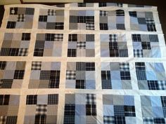 Quilting With Recycled Men's Shirts   FeltMagnet