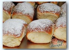 Dessert Recipes, Desserts, Hamburger, Bread, Baking, Sugar, Bread Making, Patisserie, Deserts